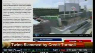 Twins Slam By Credit Turmoil - Bloomberg