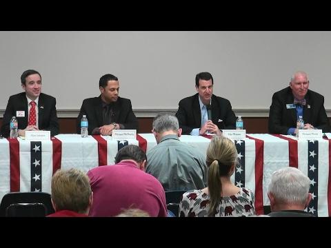 Alex Johnson, Michael McNeely, John Watson, Mike Welsh debate for Georgia GOP Chairman 02/11/17