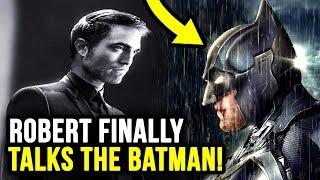 Robert Pattinson Breaks His Silence on The Batman 2021 & The Batsuit!
