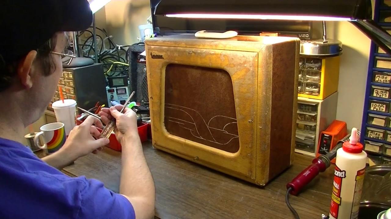 capacitors more leaky than the fbi national valco tremo tone 1224 repair [ 1280 x 720 Pixel ]
