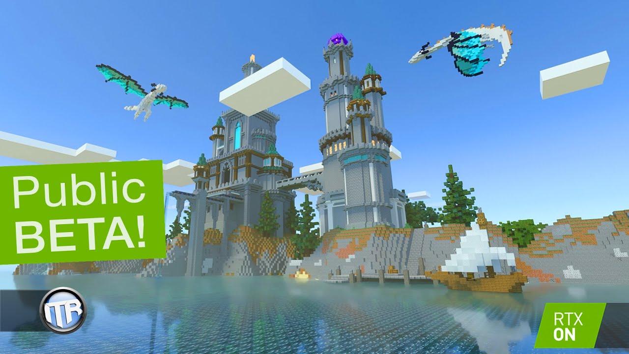 SO schön ist #Minecraft mit RAYTRACING! #RTXOn