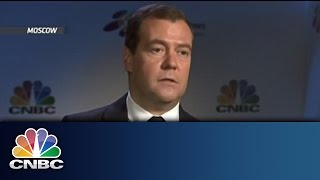 World Needs Six Reserve Currencies   Medvedev Exclusive   CNBC International