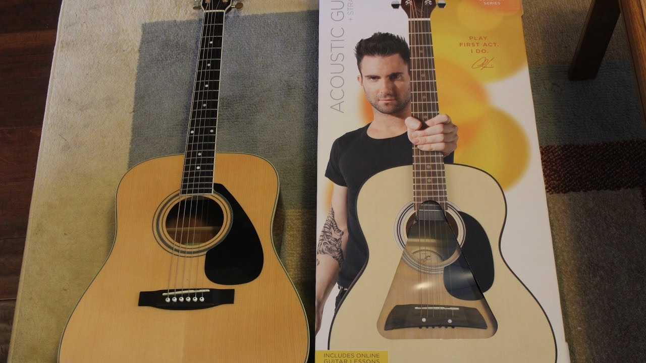 Learn to play guitar adam levine