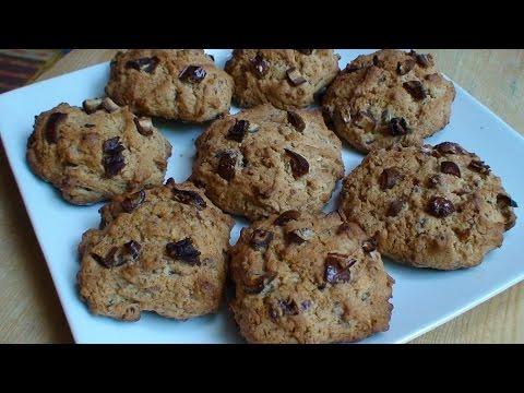 تحضير-كوكيز-سهل-بالتمر-/-preparation-facile-des-cookies-aux-dattes