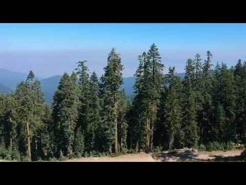 2017 Wildfire Smoke Over Ashland, Oregon and Mt. Shasta, California — Shot from DJI Spark