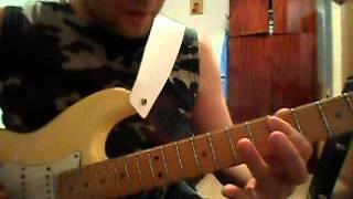 Уроки гитары.Metallica-Seek & Destroy.