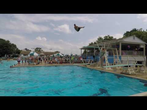 Diving Show At Ridley Township Swim Club