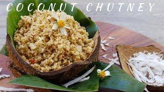 Spicy Coconut Chutney - Episode 66