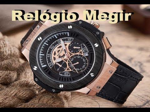 46587446b93 Relógio Megir Ouro Rose MAZZETO IMPORTS - YouTube