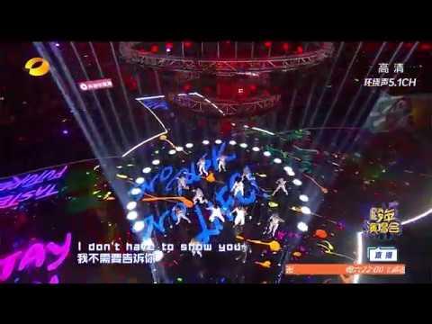 【LAY/張藝興】MASK Performance HuNan Mango TV New Year EVE.