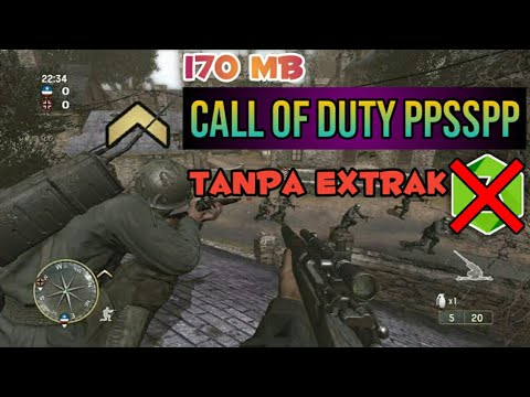 Call Of Duty PPSSPP - Download Game Psp Call Of Duty