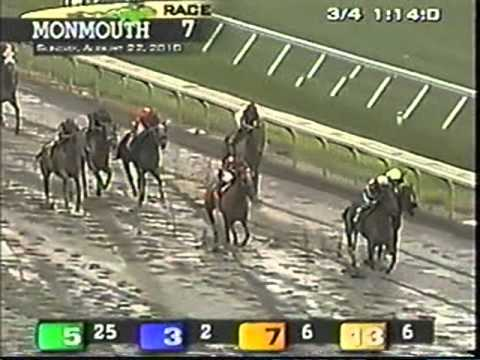 Track Announcer Calls Funny Horse Names At The Racetrack