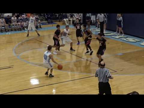 Alliance Aviators at Louisville Leopards Boys JV Basketball Highlights 1 27 2017