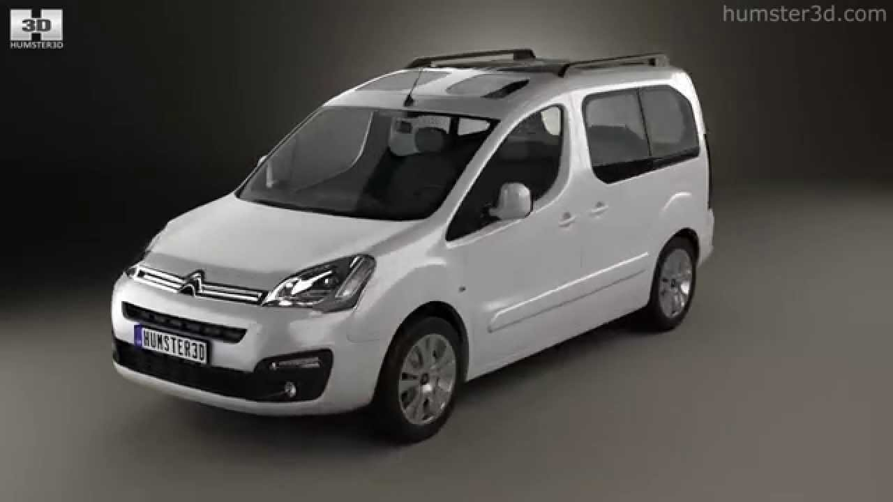 202baf42ef8fe5 Citroen Berlingo Multispace 2015 by 3D model store Humster3D.com ...