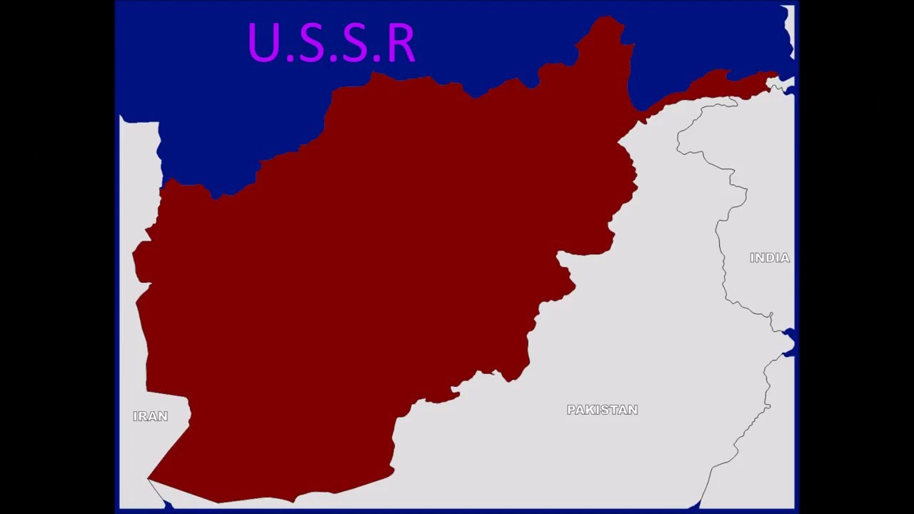 SovietAfghan War MAPNOT REALİSTİC VİDEO YouTube - Us invasion of afghanistan everyday map