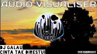Video DJ Galau - Cinta Tak Direstui (D'paspor Remix 2018) Audio Visualizer download MP3, 3GP, MP4, WEBM, AVI, FLV November 2018