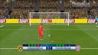 PES 2017   Borussia Dortmund vs Bayern Munich   Penalty Shootout   Gameplay PC