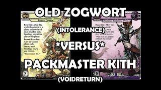 Old Zogwort versus Packmaster Kith - Warhammer 40,000: Conquest