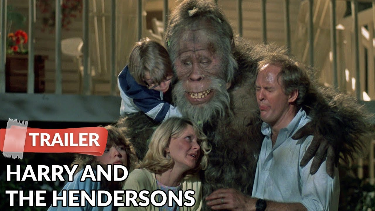 Harry and the Hendersons 1987 Trailer | John Lithgow - YouTube