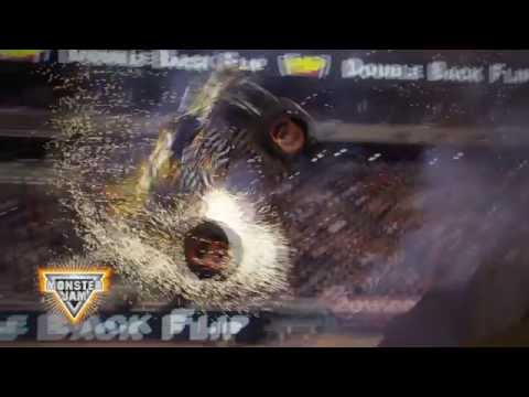 Max-D - Double Backflip at Gillette Stadium June 20, 2015