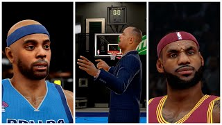 NBA 2K15 MY CAREER PS4 - 50 Points Isn