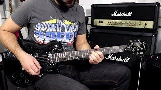 EPIPHONE LP STUDIO EBONY - Demo Guitar
