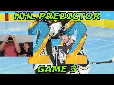 NHL Playoffs Game 3 Pittsburg Penguins vs. Philadelphia Flyers Predictor