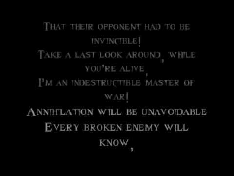 Disturbed-Indestructible [w/ lyrics]