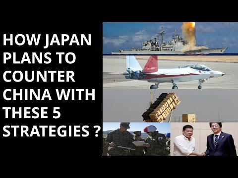 HOW JAPAN PLANS TO COUNTER  CHINA WITH THESE 5 STRATEGIES ?
