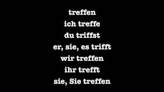 German Irregular (Strong) Verbs Present Tense - Deutsch lernen