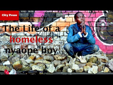 The life of a homeless nyaope boy