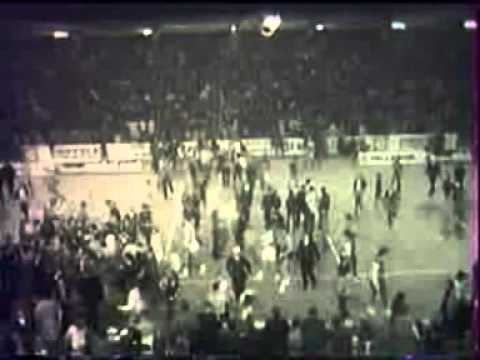 1/2 finale de la Coupe des Champions, AS Berck 95-81 Real de Madrid, 1973-1974 extrait 5