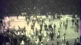 1/2 finale de la Coupe des Champions, AS Berck 95-81 Real de Madrid, 1973-1974 extrait 5