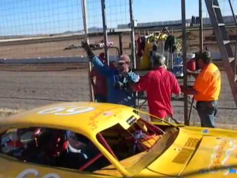Victory Lane at Prescott Valley Raceway 19Oct2013