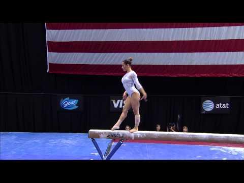 Alicia Sacramone - Beam - 2012 Visa Championships - Sr. Women - Day 2