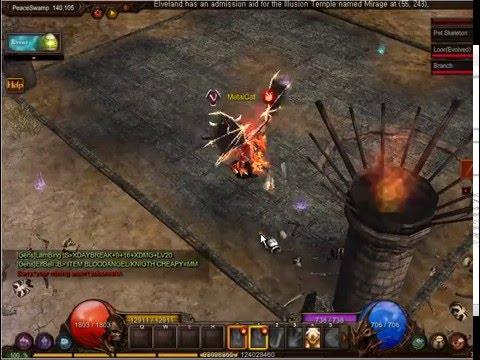 MU Online: Pandora - Bless mining