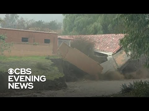 Shelley Wade - Watch This Lake Elsinore Home Collapse In Yesterday's Flood Waters