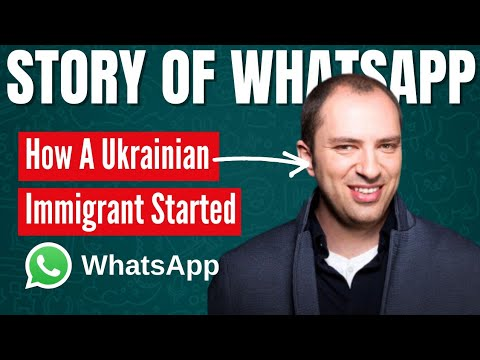Success Story Of WhatsApp - How Jan Koum Built WhatsApp From $0 To $19 Billion.