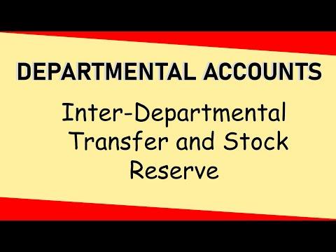 Departmental Accounts | Inter Departmental Transfer & Stock Reserve | Letstute Accountancy