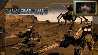 [18+] Шон играет в Supreme Commander, стрим 4 (PC, 2007)