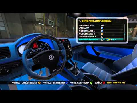 Midnight Club LA - VW Golf 5 R32 Tuning /by BroTher BAZINGA