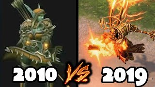 Evolution of Heroes of the Storm - 2010 to 2019