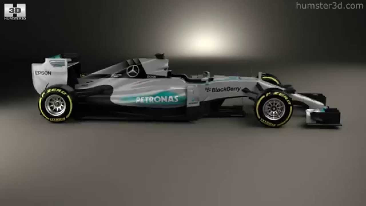Mercedes benz w06 hybrid f1 2015 by 3d model store for Mercedes benz f1 shop