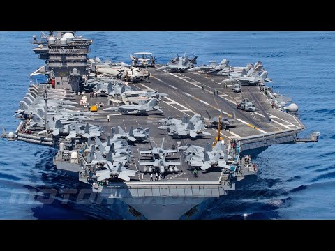 Aircraft Carrier • Powerful USS Carl Vinson and HMS Queen Elizabeth in Action