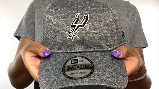 Spurs 'MICRO-TEAM STRAPBACK' Grey Hat by New Era