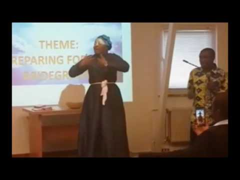 The Practise of Holiness By Evangelist Claire Andoun in Germany Day 2