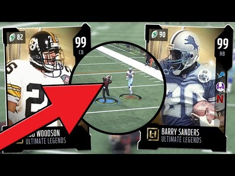 Madden 18 Ultimate Team :: 99 Sanders/99 Woodson Debut! Two Pick 6's :: Madden 18 Ultimate Team