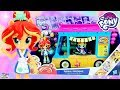 My Little Pony Equestria Girls Sunset Shimmer Sushi Food Truck Surprise Egg and Toy Collector SETC