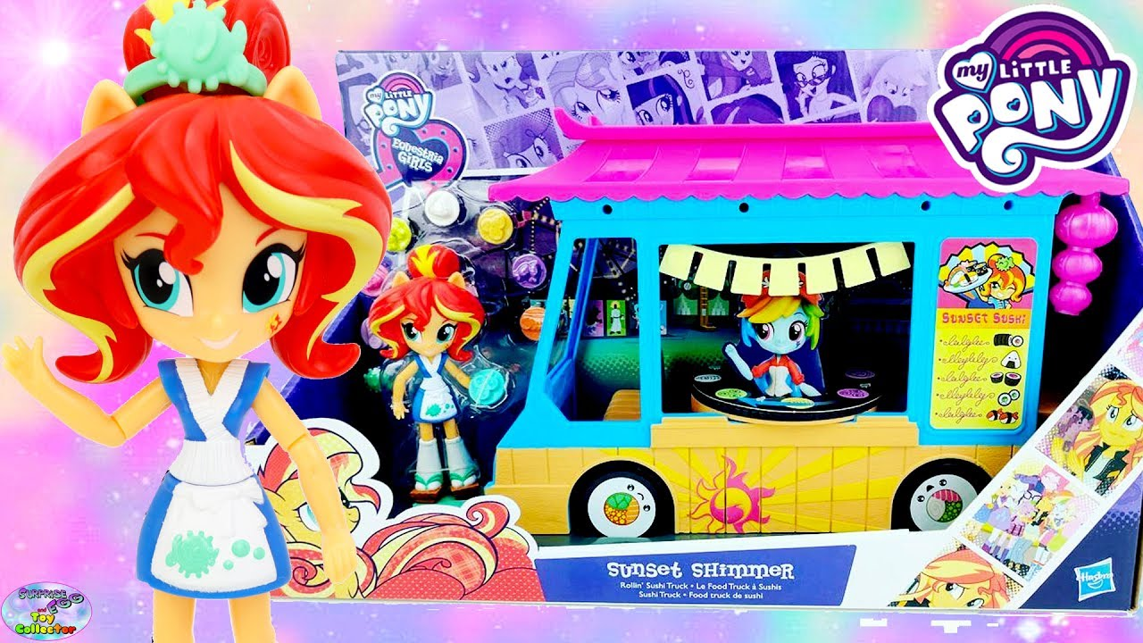My Little Pony Toy Food : My little pony equestria girls sunset shimmer sushi food