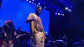 "Download lagu Burna Boy ""Gbona"" live at the Fillmore 4-3-19"